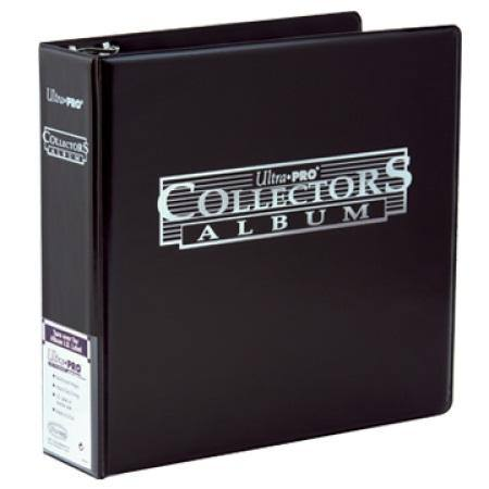 Ultra Pro 3 inch Black Collectors Card Album