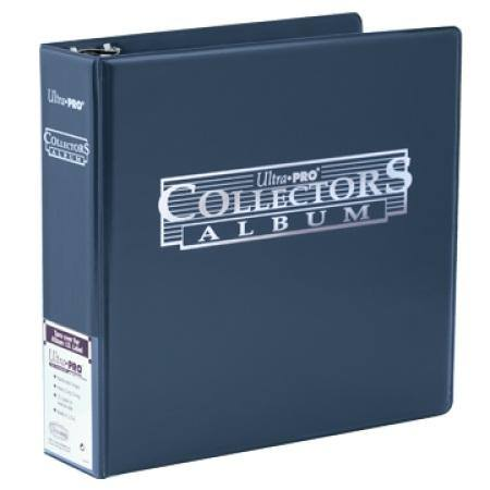 Ultra Pro 3 inch Blue Collectors Card Album