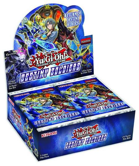YuGiOh Destiny Soldiers (24CT) Booster Box